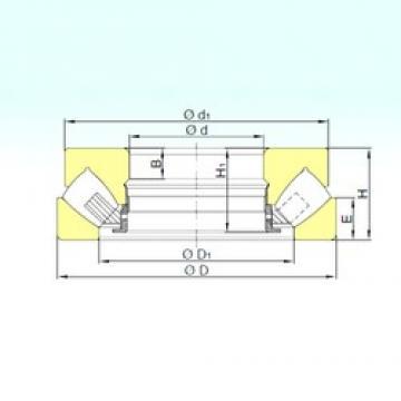 850 mm x 1440 mm x 142 mm  ISB 294/850 M thrust roller bearings