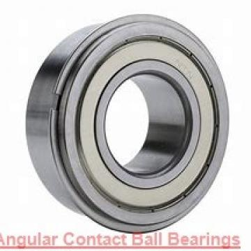 110 mm x 170 mm x 28 mm  NSK 7022 C angular contact ball bearings