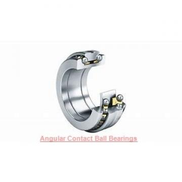 260 mm x 340 mm x 38 mm  NSK BA260-4WSA angular contact ball bearings