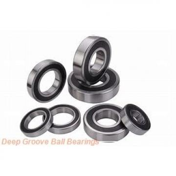 70 mm x 110 mm x 20 mm  NACHI 6014 deep groove ball bearings
