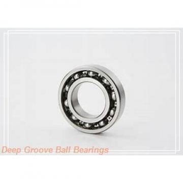 110 mm x 170 mm x 28 mm  ISO 6022-2RS deep groove ball bearings