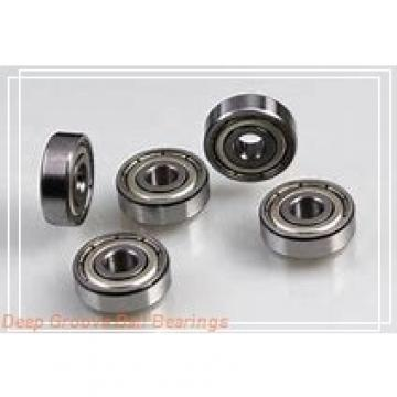 190 mm x 260 mm x 33 mm  NKE 61938-MA deep groove ball bearings