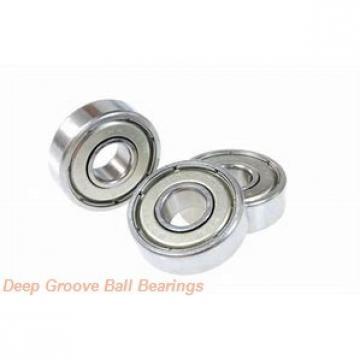 6 mm x 13 mm x 5 mm  ZEN S686W5 deep groove ball bearings