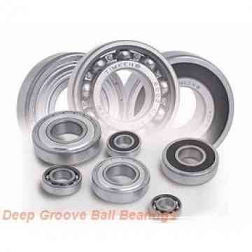 20 mm x 42 mm x 8 mm  NACHI 16004 deep groove ball bearings