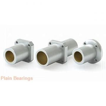 35 mm x 55 mm x 25 mm  ISB SA 35 ES plain bearings