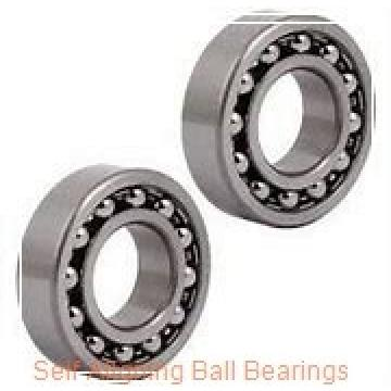 90 mm x 190 mm x 43 mm  ISO 1318K+H318 self aligning ball bearings