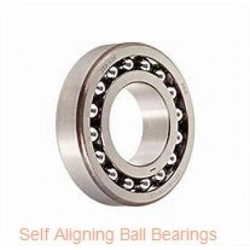 17 mm x 40 mm x 12 mm  ISO 1203 self aligning ball bearings