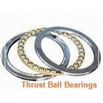 FBJ 0-3 thrust ball bearings
