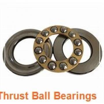 120 mm x 170 mm x 15 mm  NSK 54224U thrust ball bearings