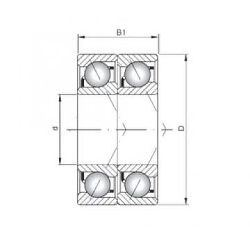 ISO 7315 BDT angular contact ball bearings