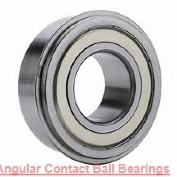 55 mm x 90 mm x 18 mm  SKF 7011 CD/P4AH1 angular contact ball bearings #1 image
