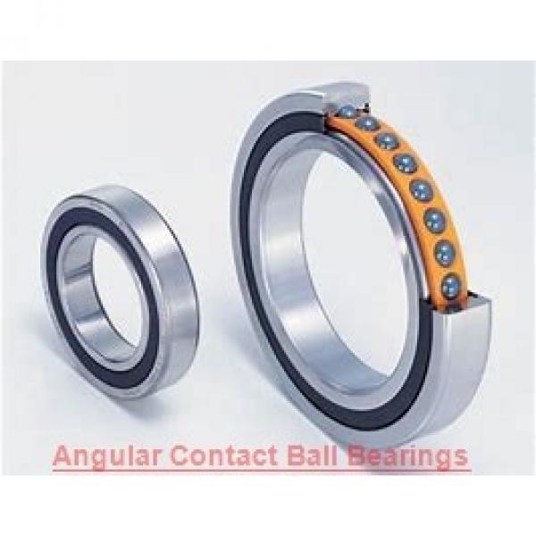 65 mm x 140 mm x 33 mm  NSK QJ313 angular contact ball bearings #1 image