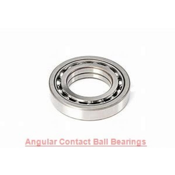 25 mm x 62 mm x 17 mm  NKE 7305-BECB-TVP angular contact ball bearings #1 image