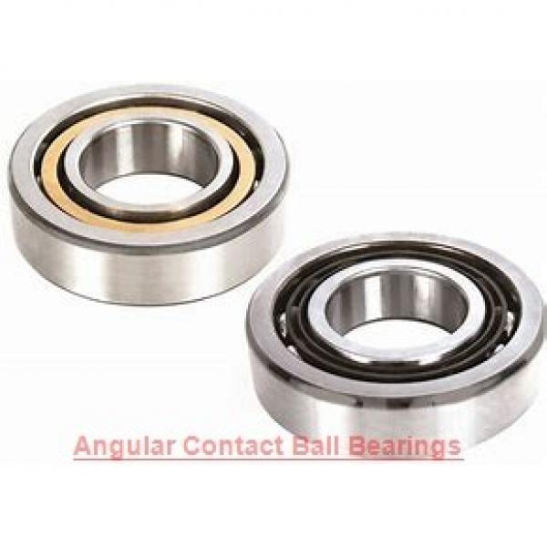 95 mm x 200 mm x 45 mm  ISO 7319 B angular contact ball bearings #1 image
