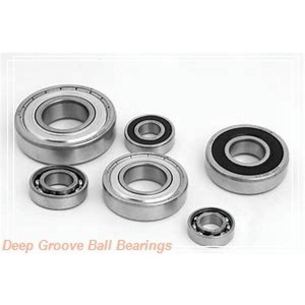 6 mm x 19 mm x 6 mm  SKF W626 deep groove ball bearings #2 image