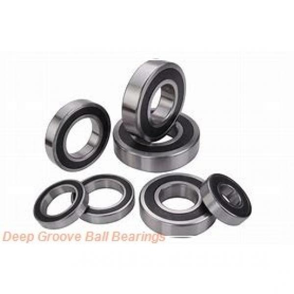 12 mm x 37 mm x 12 mm  NTN 6301LLB deep groove ball bearings #1 image