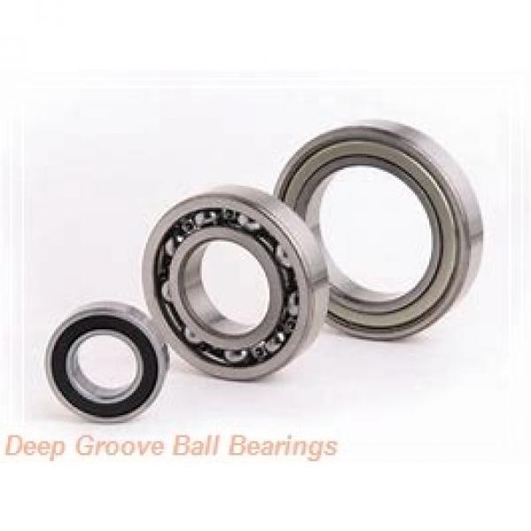 95 mm x 200 mm x 45 mm  Timken 319W deep groove ball bearings #1 image
