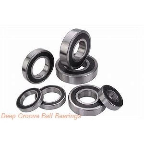 30 mm x 72 mm x 19 mm  FBJ 6306-2RS deep groove ball bearings #2 image