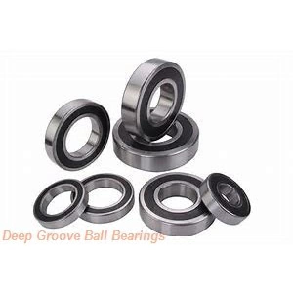 6 mm x 22 mm x 7 mm  KOYO F636ZZ deep groove ball bearings #2 image