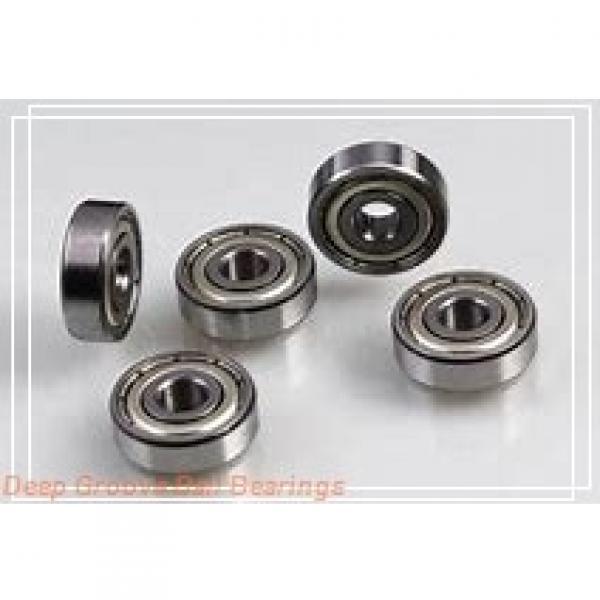 7,938 mm x 12,7 mm x 3,967 mm  NMB RIF-8516ZZ deep groove ball bearings #1 image