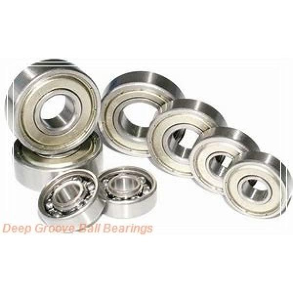 4 mm x 10 mm x 3 mm  FBJ MF104 deep groove ball bearings #1 image