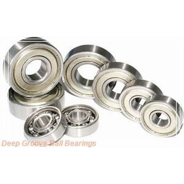 85 mm x 130 mm x 22 mm  ISB 6017 deep groove ball bearings #1 image