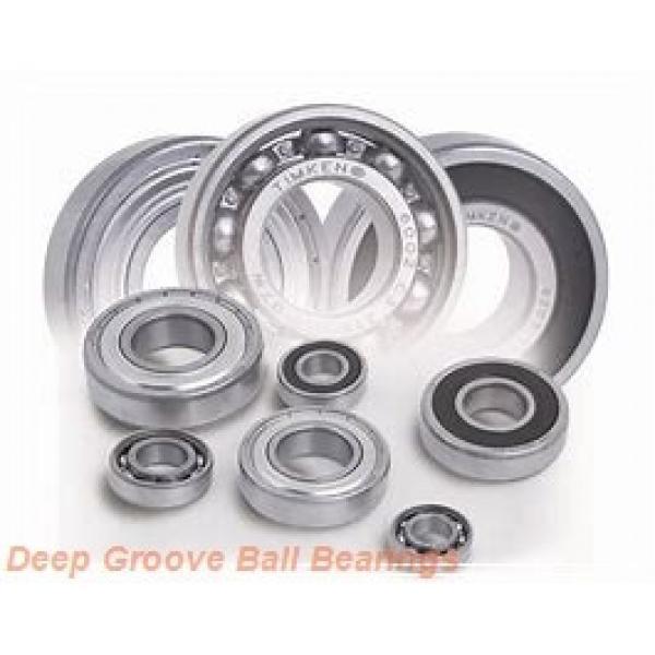 8 mm x 22 mm x 7 mm  ISO FL608 deep groove ball bearings #2 image