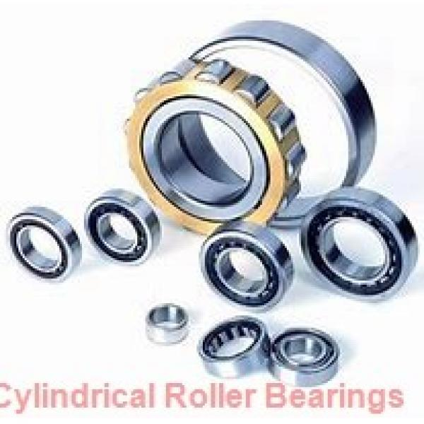 70 mm x 180 mm x 42 mm  NKE NU414-M cylindrical roller bearings #1 image