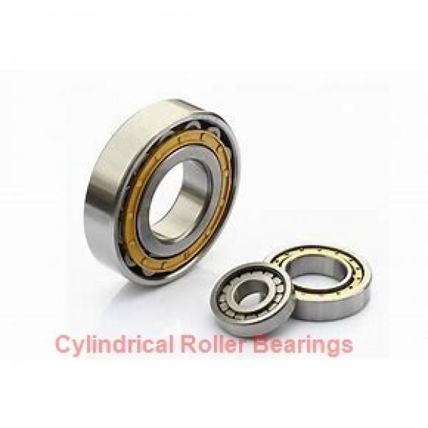 90 mm x 190 mm x 43 mm  NKE NUP318-E-MA6 cylindrical roller bearings #1 image