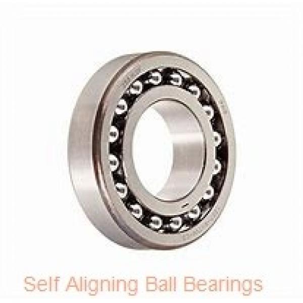 30 mm x 72 mm x 19 mm  NKE 1306 self aligning ball bearings #2 image
