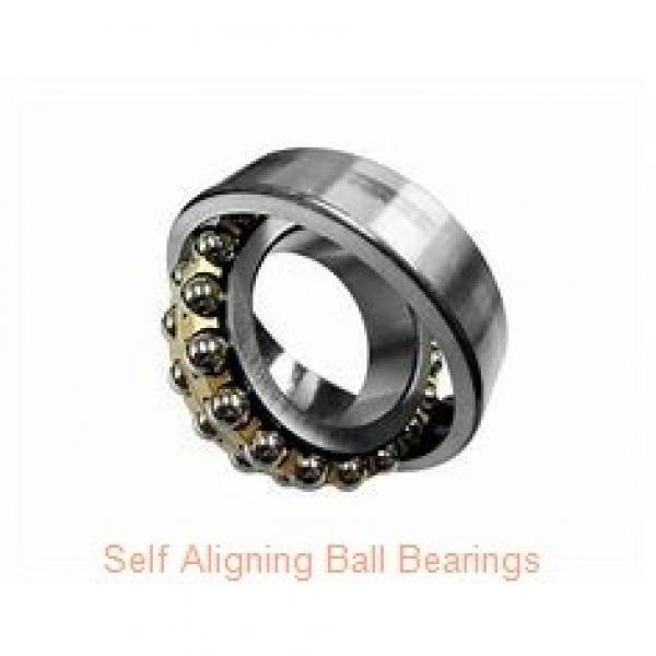 20 mm x 52 mm x 15 mm  NACHI 1304 self aligning ball bearings #2 image